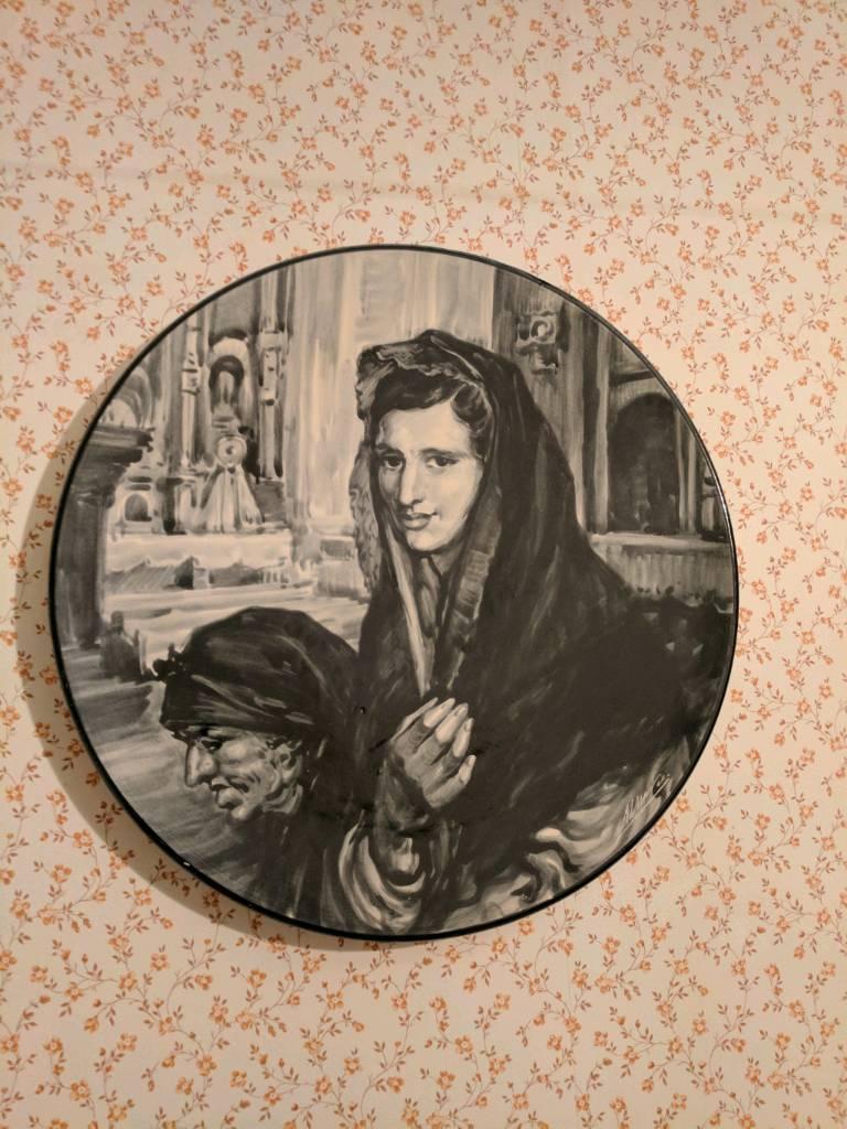 Spanish Decorative Plate