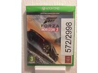 New sealed forza horizon 3 Xbox one
