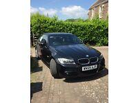 Black BMW 318d M Sport