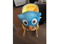 Owl baby rocker