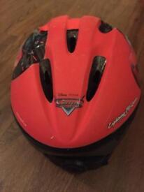 Disney Cars child's cycle helmet, size xs