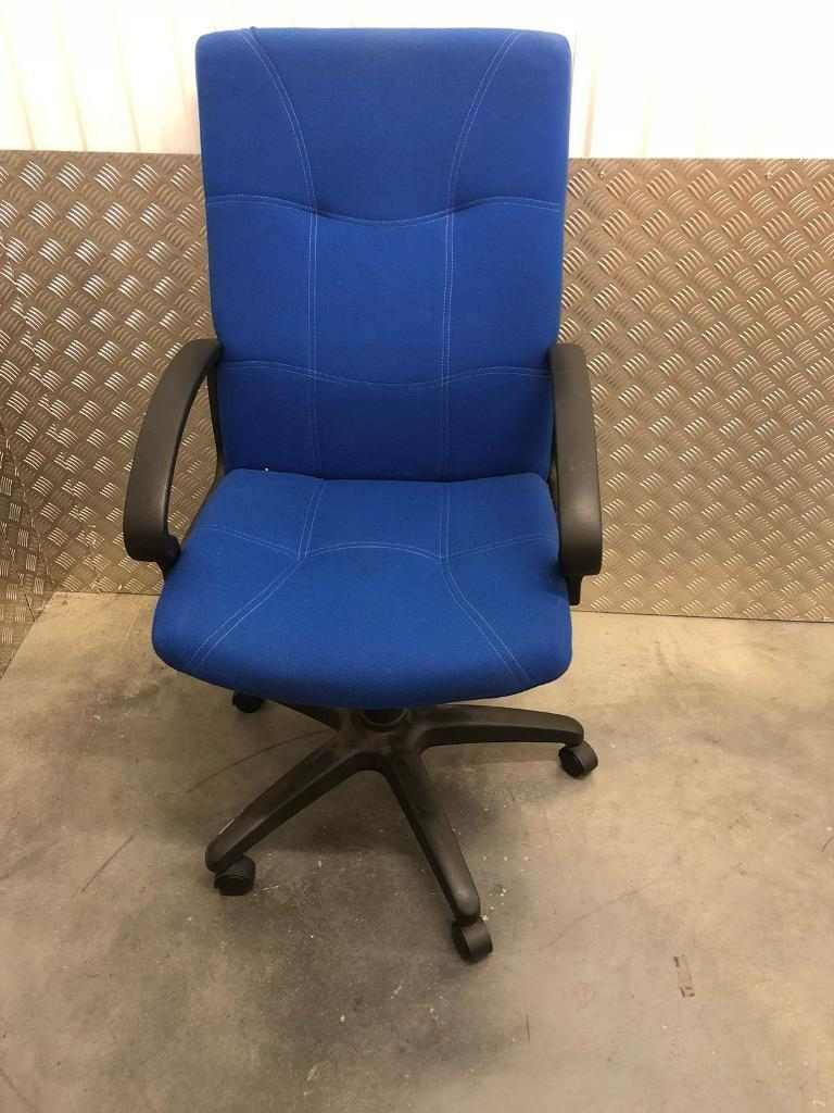 Blue Office Swivel Chair Free Delivery