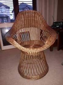 Chair wicker