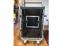 Flight case mixer plus rack