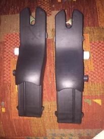 Silvercross car seat adaptors