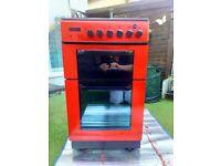 Baumatic twin cavity gas cooker