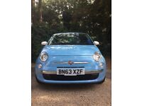 Lovely Fiat 500 'Colour Therapy' 2013 - drives like a dream and very comfortable! Alloy wheels!