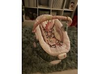 Girls baby bouncer
