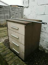 free metal 4 drawer cabinet