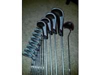 Wilson Deep Red Full Golf Set