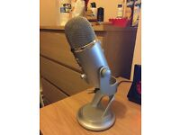 Blue Yeti Microphone As New