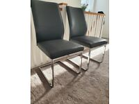 2 dining chairs (great condition)