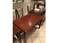 Leather chairs & Wooden tables, used but in great condition