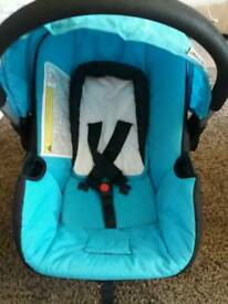 Hauck blue car seat £10ono used but in great condition