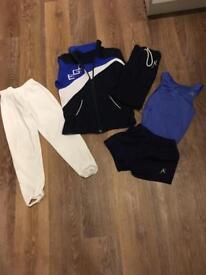 Exeter gymnastics club kit (boys)