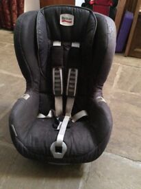 Brittax Car Seat stage two with isofix base