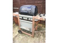 GasBBQ with single hob
