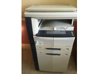 Kyocera KM-1620 Photocopier needs cleaning