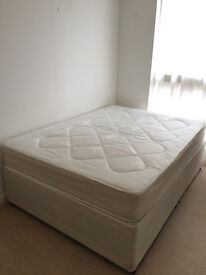 Double divan beds for sale - Windsor Opthopeadic make