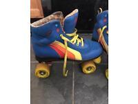 Retro roller skates size 8