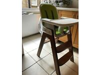 OXO Tot Sprout (Green / Walnut) Highchair - (RRP £205!) - Great High Chair!