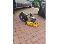 Partner k650 concrete saw