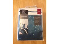 KING SIZE BED IN A BAG 5 PIECE BEDDING SET - NEW
