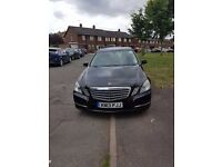 mercedes e class 220 se cdi BlueEFFICIENCY FSH tdi auto- start stop 79k pco
