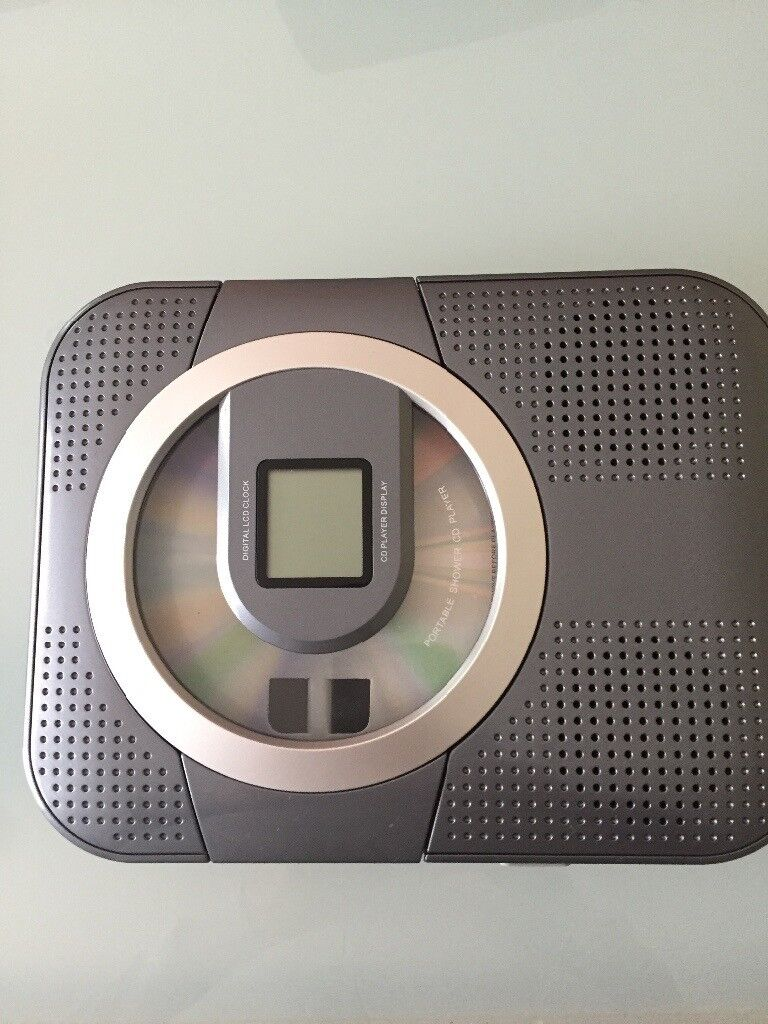Portable Shower CD player with Radio