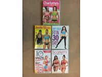 5 Fitness DVD -Charlotte Crosby, Amy Childs, Jennifer Ellison, Amy Childs, Scarletts, 10min Solution