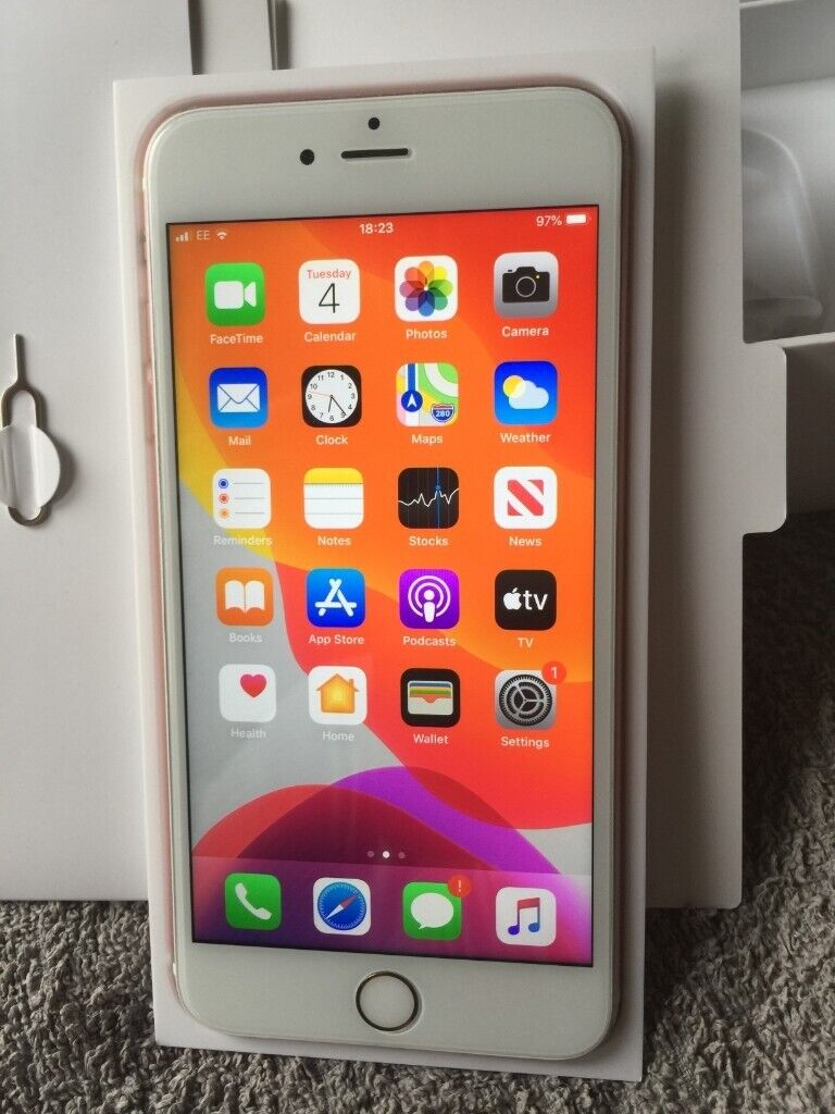 Rose Gold iPhone 6s Plus 16GB And Unlocked to Any Networks