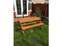 Garden pub bench £15