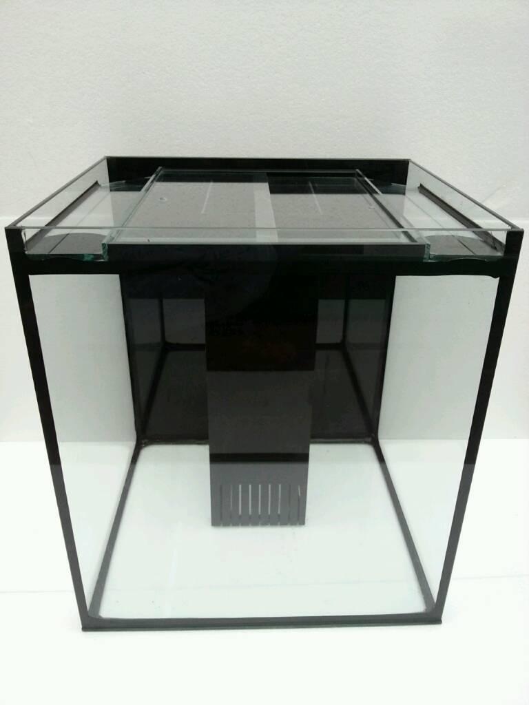 Fish aquarium dimensions - Brand New Glass Fish Tank Aquarium Systemised With Weir