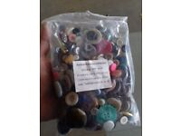 2x 300g Bags of mixed craft buttons RRP £19.98