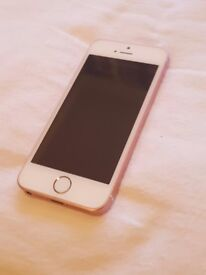 Rose gold, 32gb, iphone SE