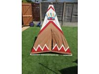 Kids wigwam play tent from ELC