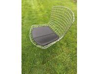 Bertoia Chairs in Chrome