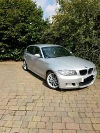 BMW 120d M Sport, sensors, half leather seats