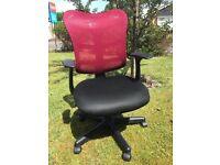 Pair matching swivel chairs
