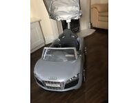Audi ride on excellent condition