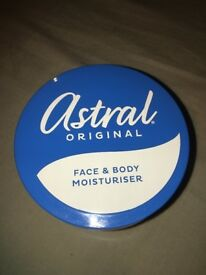 Astral original face and body moisturiser 500ml