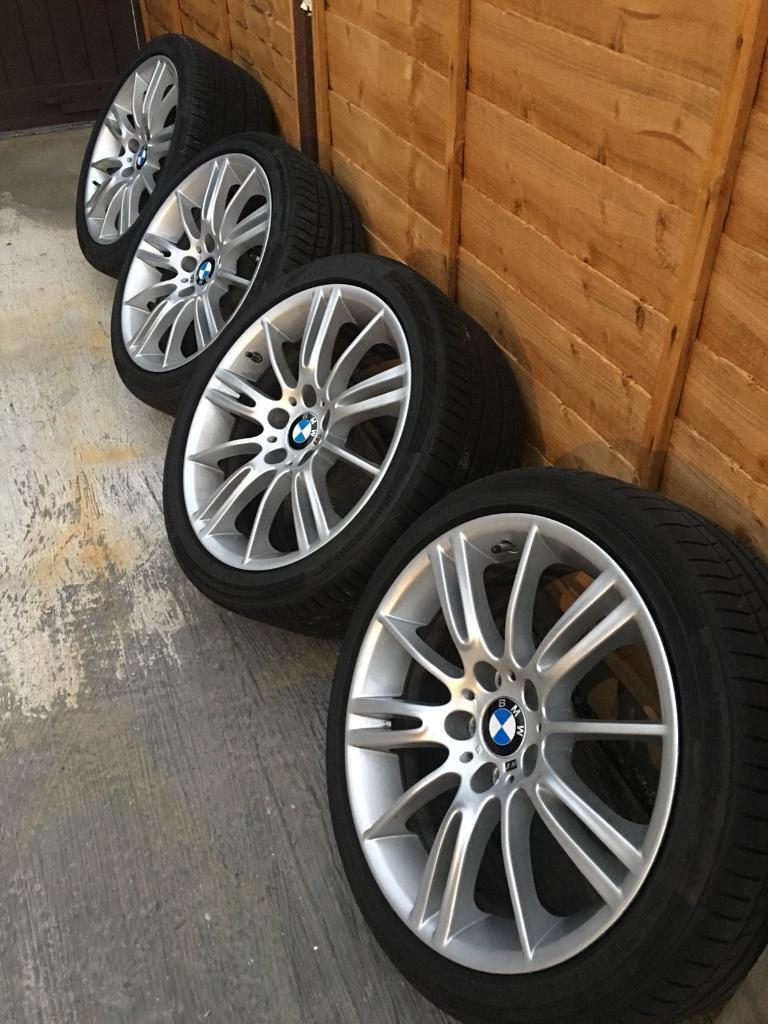 GENUINE BMW MV3 18 inch Alloy Wheel & tyre set
