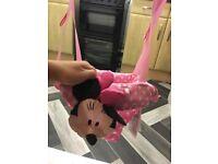 Minnie Mouse door swing