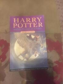 1st edition Harry Potter and the Prisoner of Azkaban