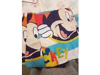 Micky mouse toddler bedding
