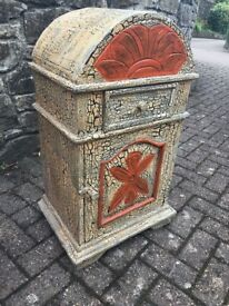 Unusual small decorated chest