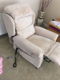 HSL Motor Riser Recliner. Perfect Condition