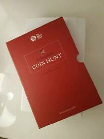 Royal Mint 50p collectors Album & coins