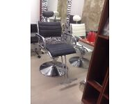 New + Boxed Beauty Threading Salon Chairs for sale