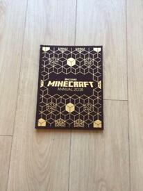 Minecraft annual 2018 ( duplicate Xmas gift )
